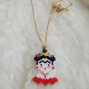 Frida Necklace gold